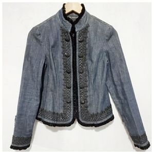 Inc jean jacket size 2